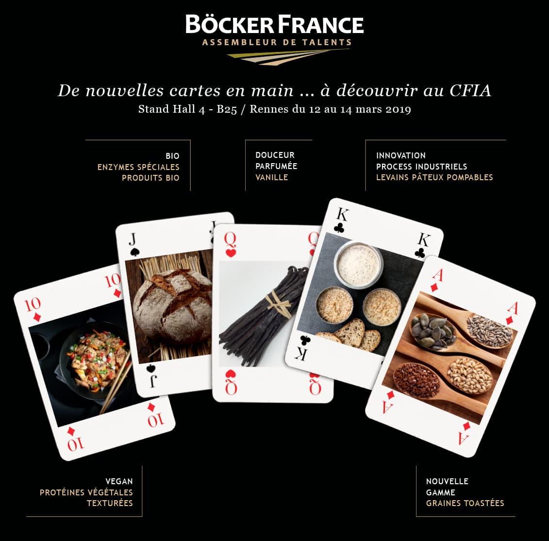 De nouvelles cartes en main... <br>à découvrir au CFIA